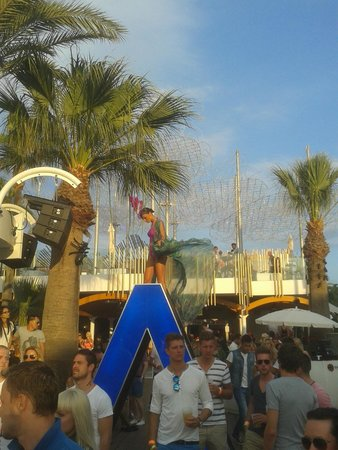 Ushuaia Ibiza Beach Hotel: axwell
