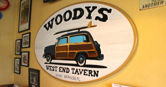 Woodys West End Tavern: Our Woody's Wall!