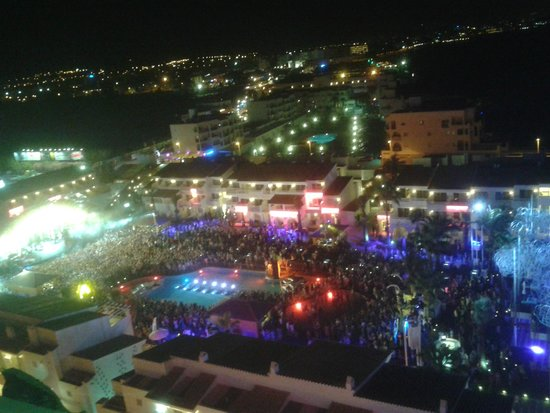 Ushuaia Ibiza Beach Hotel: from the terrace