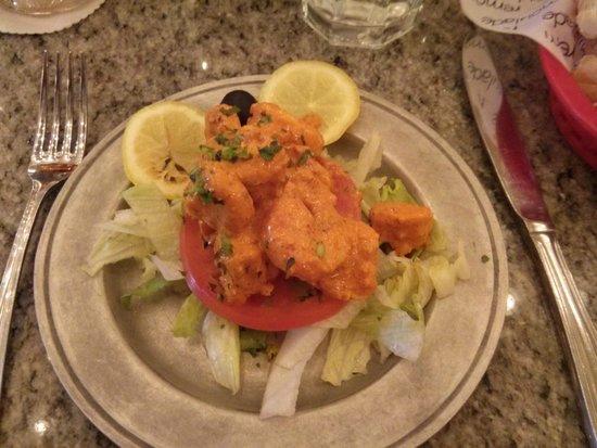 Shrimp Arnaud: (menu description) - Boiled gulf shrimp marinated in Arnaud's famous remoulade sa
