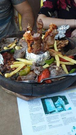 Ravza Restaurant: Osmanische Pfanne ravza