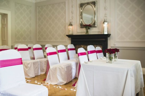 Sparth House Hotel: Wedding Ceremony in our Regency Room