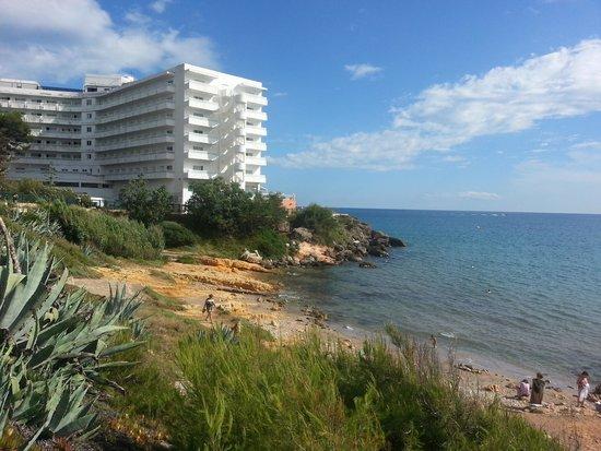 Hotel Best Negresco: Fab view and beach