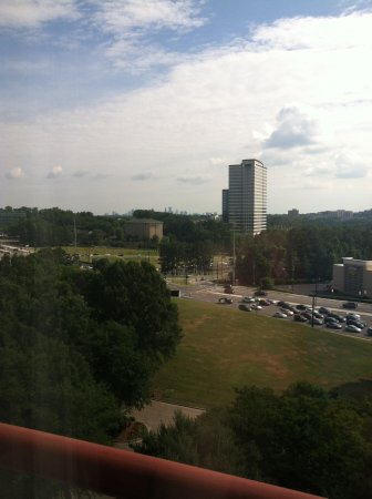 Crowne Plaza Atlanta Perimeter at Ravinia: view from 11th floor