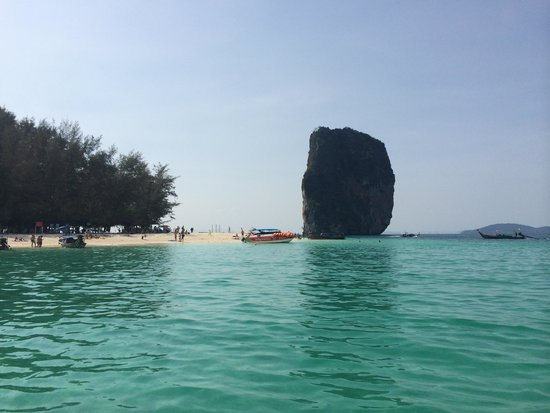Poda Island: Poda from afar