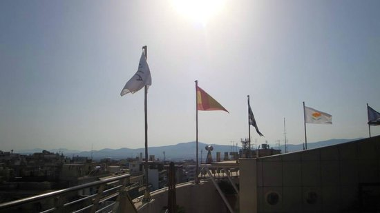 Melia Athens: View from roof