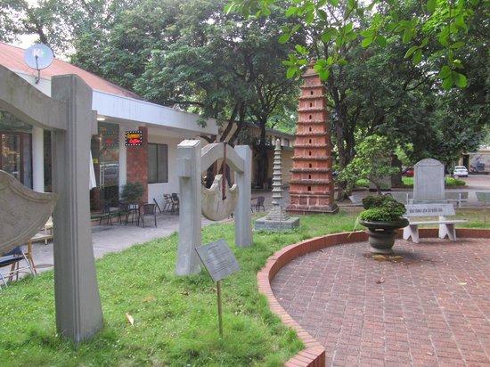 Vietnam National Museum of History: View across the garden area