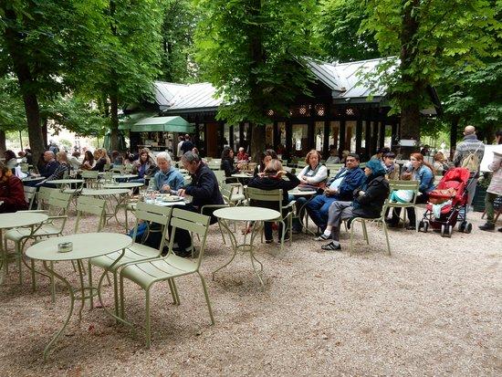 Luxembourg Gardens: Crepe Kiosk