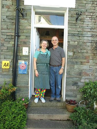 Badgers Wood Guest House: Proprietors Anne and Andrew