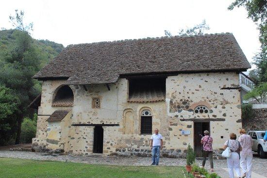 Agios Nikolaos tis Stegis Church: Церковь св.Николая под крышей.