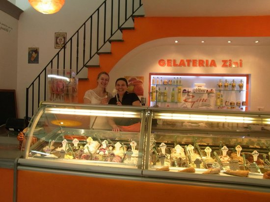 Gelateria Zini, il Gelato Artigianale : So many flavours!