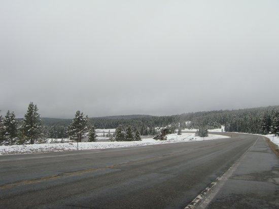 US Highway 16: Mid June on Cloud Peak