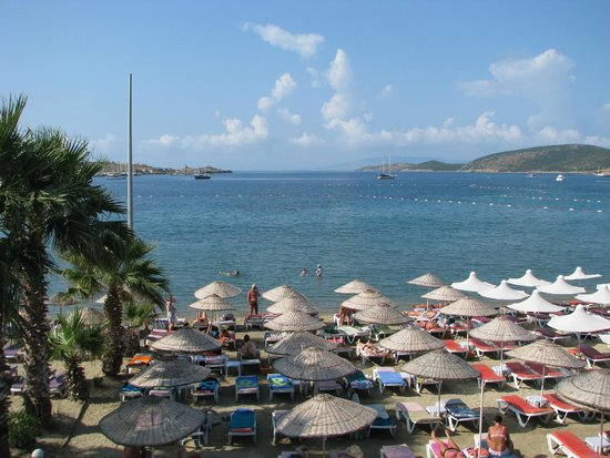 Hotel Sun Club: Вид с ресторана
