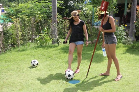 Football Crazy Golf - Phuket: Its a gimme!