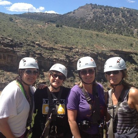 Zip Adventures of Vail: 50 and living!