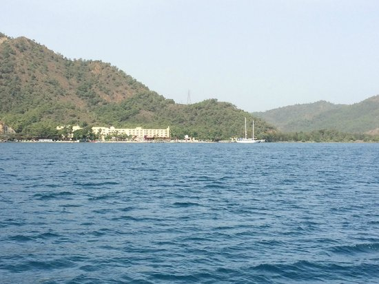Marmaris Resort & SPA: С яхты