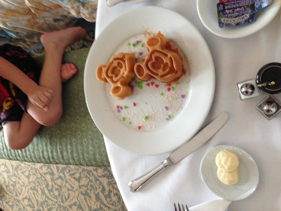 Disney's Grand Floridian Resort & Spa: Breakfast Mickey Style
