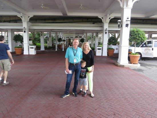 Disney's Grand Floridian Resort & Spa: Hotel entrance