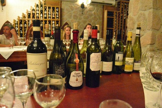 Ti Kaye Resort & Spa: Wine tasting