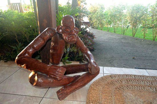 Ti Kaye Resort & Spa: These guys greet you in the lobby
