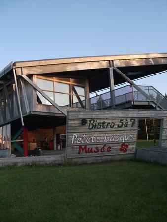 Parc de l'Aventure basque en Amerique: Café-bistro, Terrasse, Parc de l'Aventure Basque en Amérique