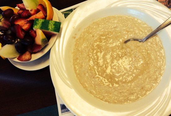 Sophia's House of Pancakes : Fruit & Oatmeal with Brown Sugar