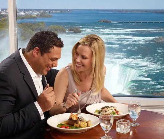 Niagara Falls Marriott Fallsview Hotel & Spa : Terrapin Grill Fallsview Restaurant