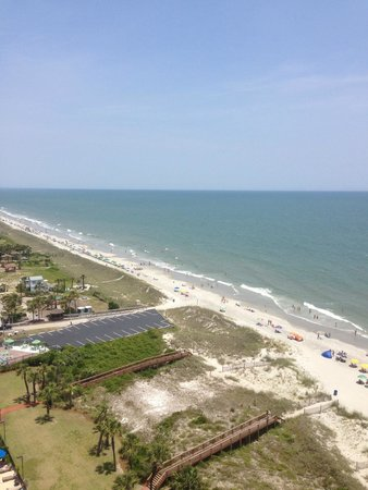 Beach Colony Resort: View from 16th Floor