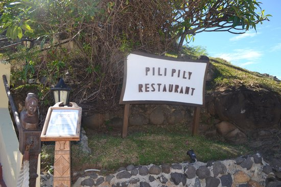 The Pily Pily Restaurant : fuori