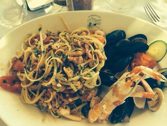 La Fontelina: Spaghetti allo scoglio