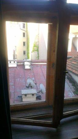 Tutti Frutti Hostel: вид из окна