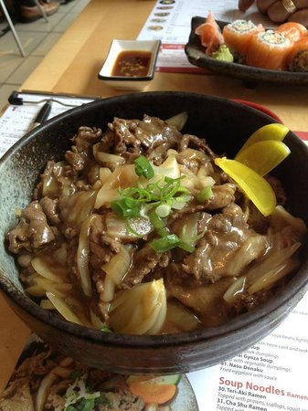 Teri-Aki: Beef Gyudon, absolutely Delicious!