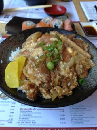 Teri-Aki: Katsudon (pork cutlet, topped with lite sweet soy sauce and fried egg)