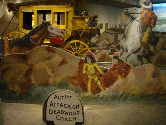 Buffalo Bill Historical Center : Buffalo Bill diarama