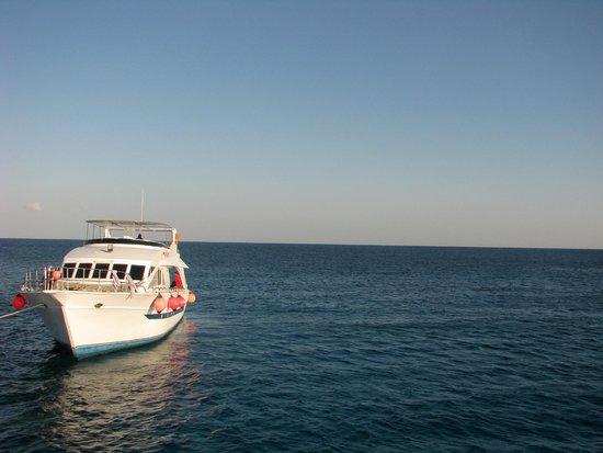 Îles Giftoun : Лодка