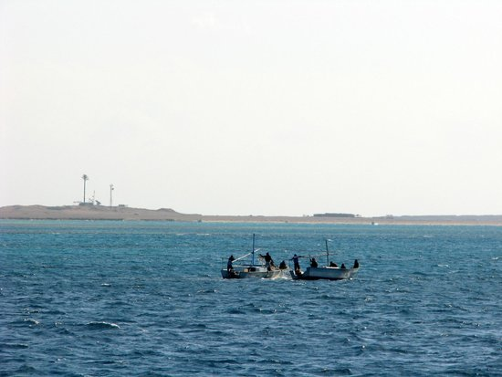 Îles Giftoun : Рыбаки