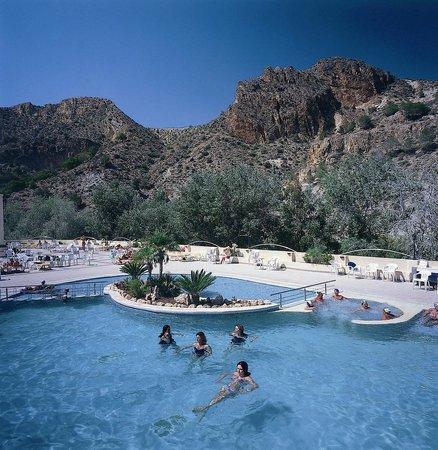 Balneario de Archena - Hotel Levante: Zona Piscina Exterior