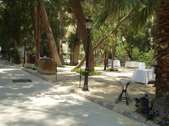 Balneario de Archena - Hotel Levante: Jardines Exteriores