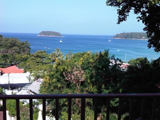 Chanalai Garden Resort : view from balkony