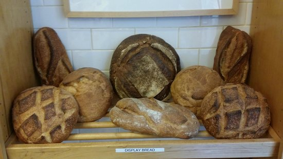 Acme Bread: Lovely Display - I want one of each!