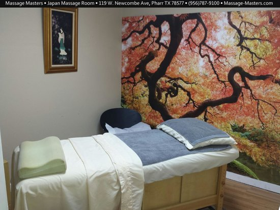 Massage Masters • Japan Massage Room• 119 W. Newcombe Ave, Pharr TX 78577 • (956)787-9100 • Mass