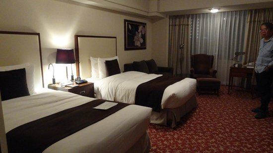 Imperial Hotel Tokyo: デラックスルーム