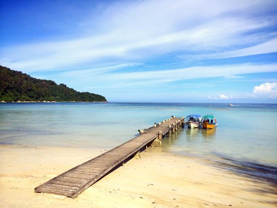 Arwana Perhentian Eco Resort & Beach Chalet: The Jetty at Arwana Perhentian Eco Resort