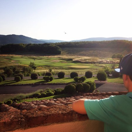 La Bagnaia Golf & Spa Resort Siena, Curio a Collection by Hilton: View from the room!