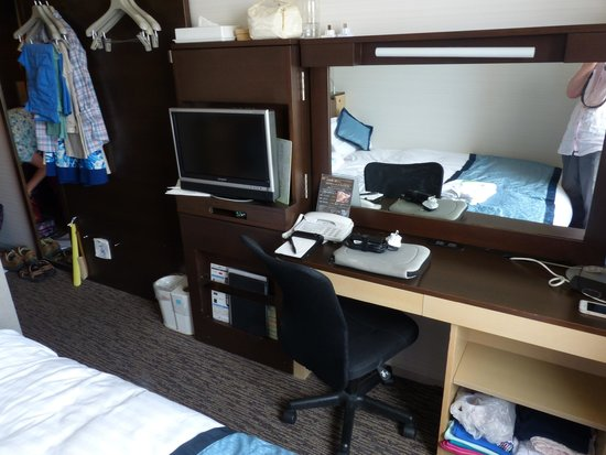 Yokohama Sakuragicho Washington Hotel: Double room