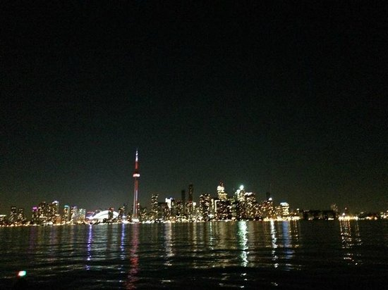 Culinary Adventure Co. : Toronto skyline from canoe - June 26