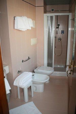 Hotel Centrale: bagno in camera