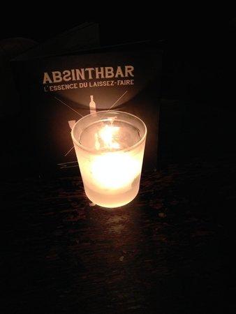 Brasserie Appelmans : Ook absinth verkrijgbaar