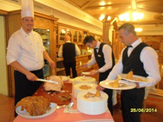 Alpenresort Belvedere Wellness & Beauty: cena di gala