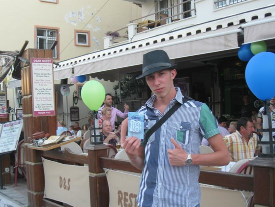 Summer Rain Restaurant: Birthday celebrations